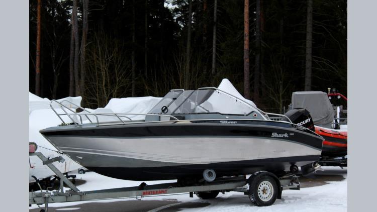 Silver Shark BR - Mercury 115 ProXs