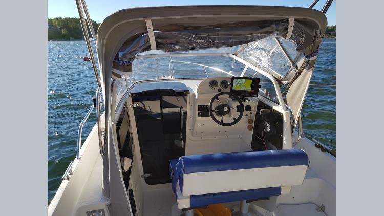 Silver Eagle 650 WA Verado 175