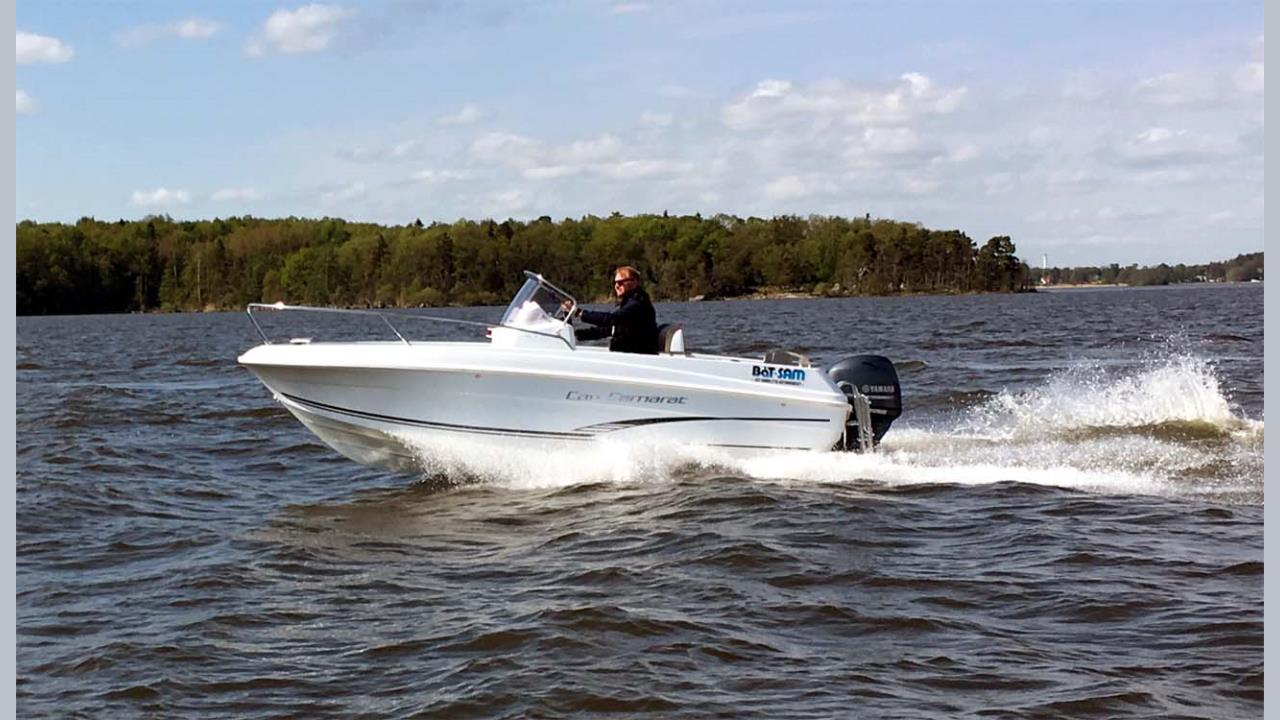 Jeanneau CC 5,5 WA-20 med Yamaha F115 +EXTRA!