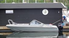 Buster XXL-07 med Mercury 115 ink upptagningsvagn