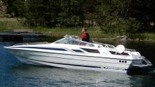 Sunseeker 24 Mexiko-1987.  Indmar 5,7 L- 2007.