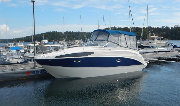 Bayliner 265 Cruiser med Mercruiser 5.71l 250 HK