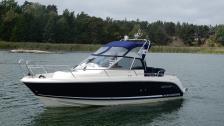 Aquador 25 WAE -2008. Yanmar Diesel. Bogpr+Ankarspel