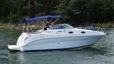 Sea Ray 240 -2002. 5,0 MPI - Totalrenoverad Maskin 2017