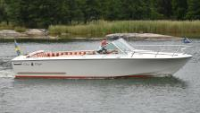 Chris Craft 23 Lancer -1973 Mercruiser 6,2 MPI -2011