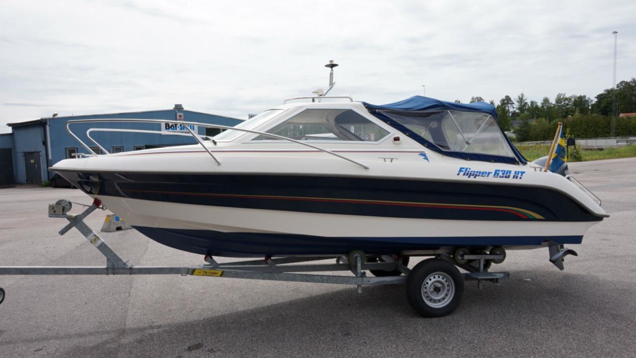 Flipper 630HT-06 med Yamaha F115