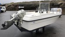 SÅLD! Plastbåt (ockelbo) / Honda BF 45