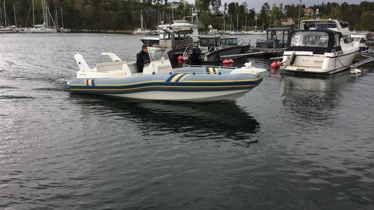 Marlin 22 RIB, Volvo Penta 5.7 GXI