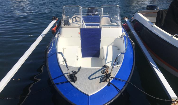Silver Hawk 540 BR, Mercury Optimax 90 HK