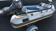 Seawave 290 Rib -10 Jockey Yamaha F 9,9 FMHS -12