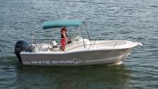 White Shark 205 -00. Ny motor -14. Yamaha 175 HK 4-takt