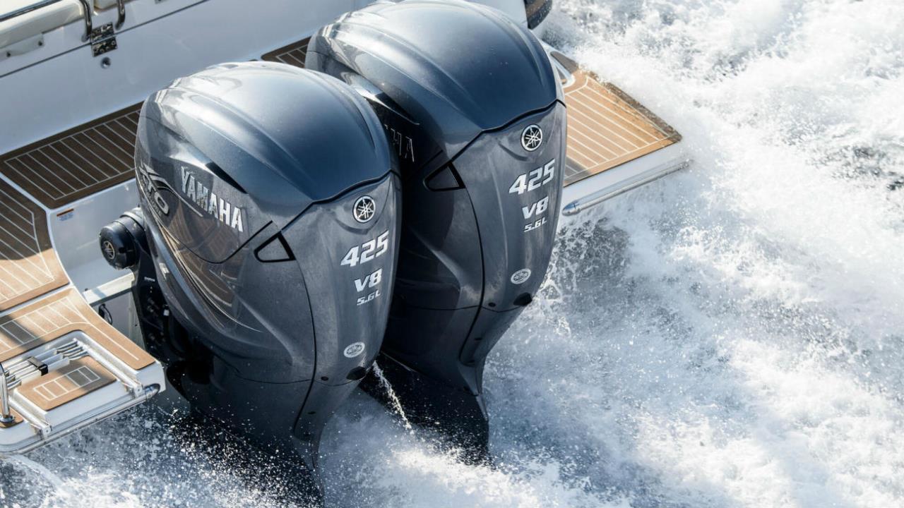 *Yamaha båt-motorer 2,5hk-425hk