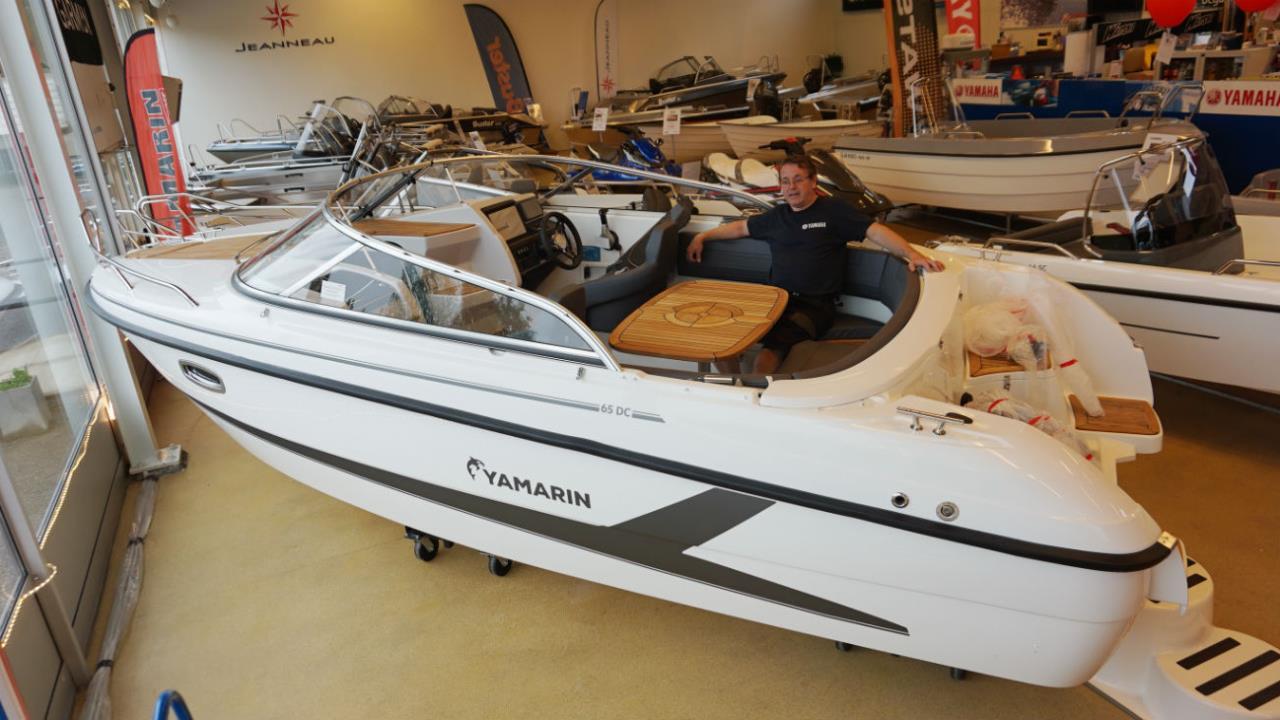 Yamarin 65 DC 2019 Utställnings-båt!