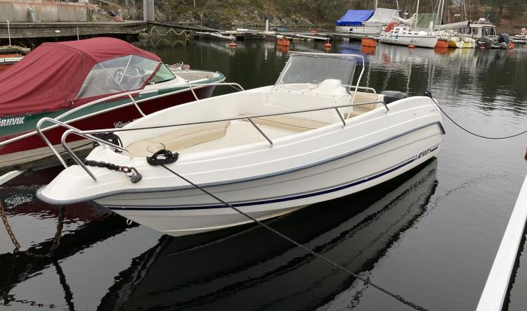 Ryds 618 GTI, Mercury 125 HK Optimax