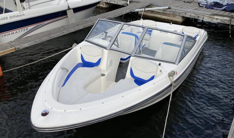 Bayliner 175 BR, Mercruiser 3.0 TKS