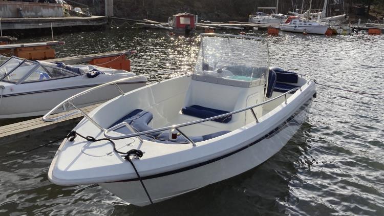 Finnmaster 6000 Offshore, Yamaha 115 HK
